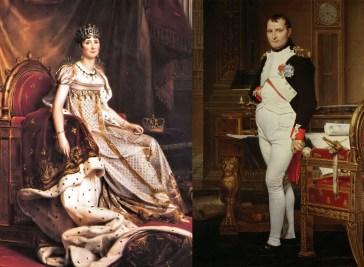 History of Make-up - Perfume Josephine and Napoleon Bonaparte