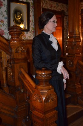 Jeanne Gehret as Susan B. Anthony
