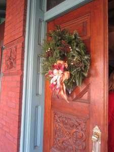 Christmas door 1006 pixels