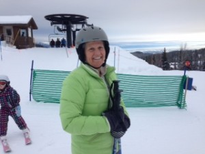 Skiing the Fish!  My first lesson at Whitefish Mountain Resort
