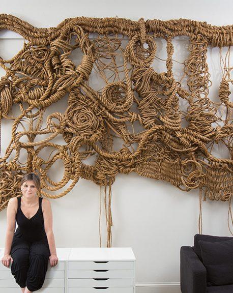 Rope Sculpture Artist Susan Beallor Snyder