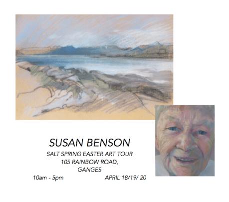 Susan Benson, Easter Art Tour