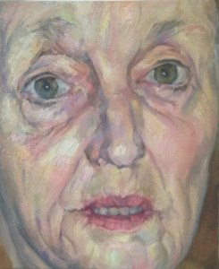 "GILLIAN, 24""x18"" oil on canvas"