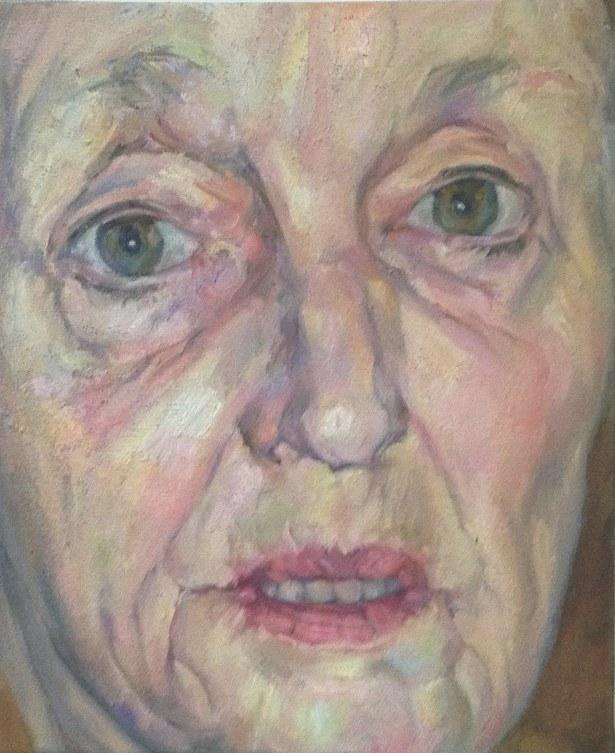 """GILLIAN, 24""""x18"""" oil on canvas"""