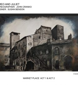 ROMEO AND JULIET, Market Place Print