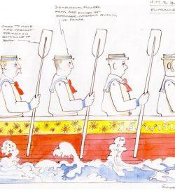 HMS PINAFORE, 1988, Mirvish Productions, Stratford Festival, Sister'sboat