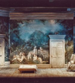 THE MARRIAGE OF FIGARO, Act 1 Set, 1982