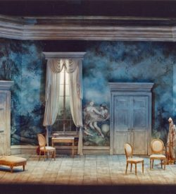 THE MARRIAGE OF FIGARO, Act 2 Set, 1982