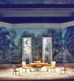 THE MARRIAGE OF FIGARO, Act 3 Set, 1982