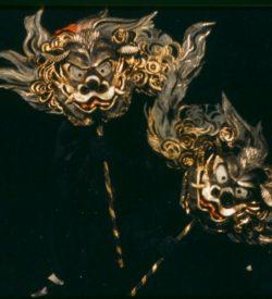 THE MIKADO, KATISHA MASKS, 1982