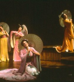 THE MIKADO, SCHOOL GIRLS ENTRANCE, 1982
