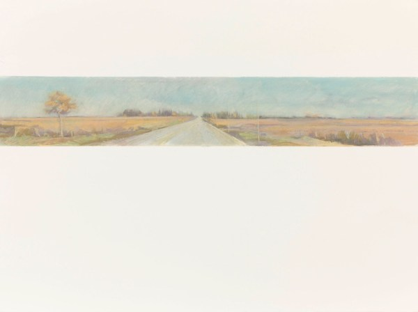Ontario Road, 22.5x30 pastels on Arches paper