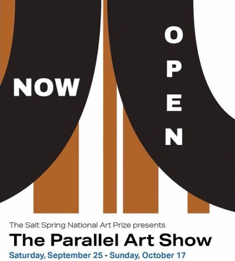 THE PARALLEL ART SHOW,  Salt Spring Island, September 25 - October 17, 2021