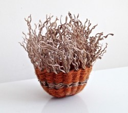 BasketOrangeYarn