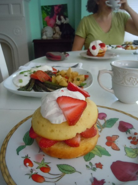 Mother's day tea at home