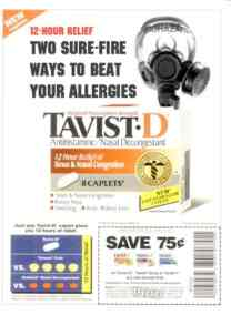 Tavist D Gas Mask