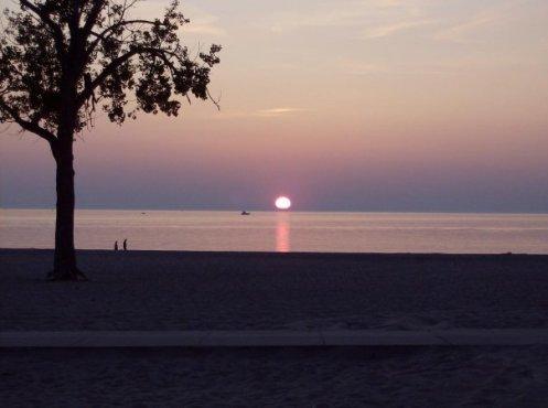 Lake MI Sunset