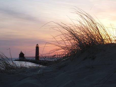 Lake MI from dunes