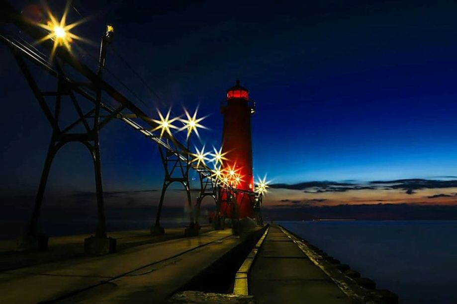lake MI GH lighthouse