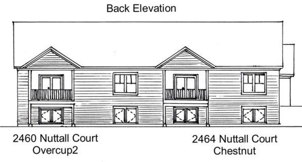 22-2460-Back Elevation
