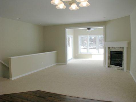 Living room open to 4-season room