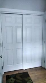6-panel sliding closet door