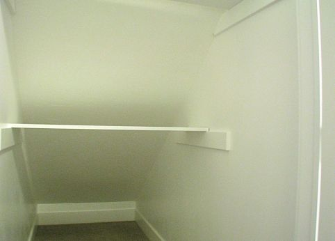 Under the stair storage area
