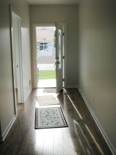 2430 Foyer, laminate wood floor