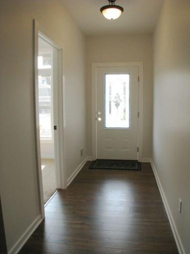 2444 Foyer, laminate wood floor
