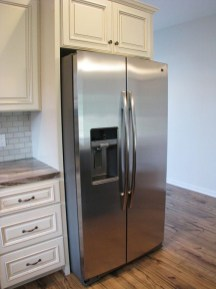 2430 Kitchen - side by side refrigerator with ice & water in the door