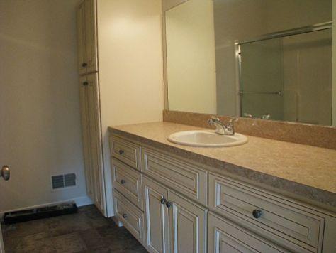 2430 Master bath with spacious linen closet