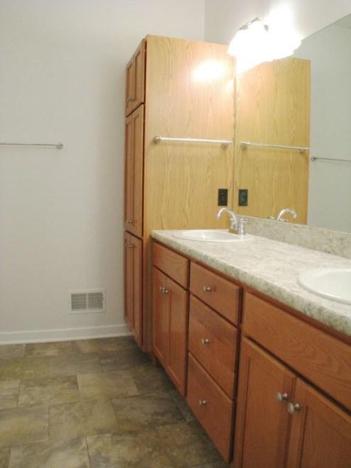2444 Master bath with large linen closet