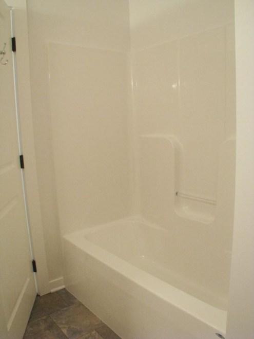 2444 Master bath one piece tub & shower combination