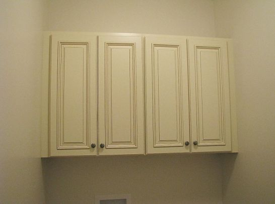 2430 Laundry overhead cabinets