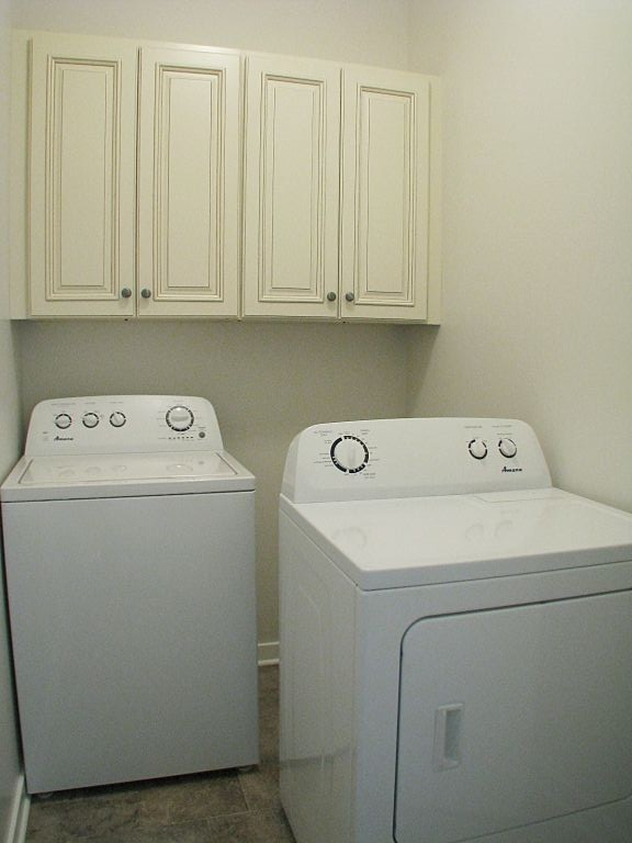 2430 Laundry with washer and dryer