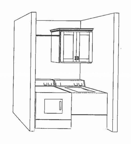2444 Artists drawing of the laundry