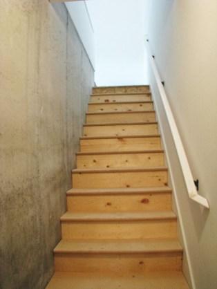 2444 Lower level stairway to garage