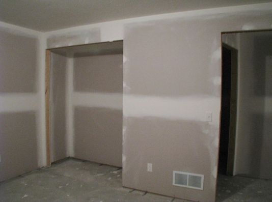 Bedroom in lower level.