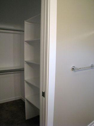 2506 Master bedroom with closet organizers
