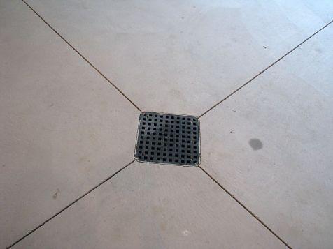 2437 Garage floor drain