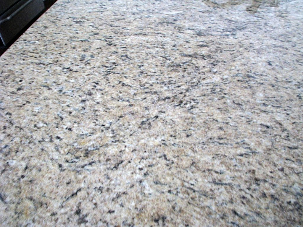 2419 Close up of center island counter top