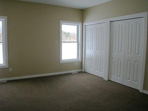 2419 Master bedroom with 2 double door closets