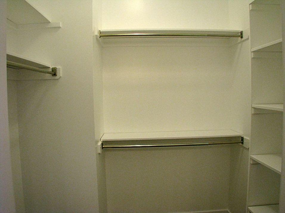 2415 Master bedroom closet with organizers