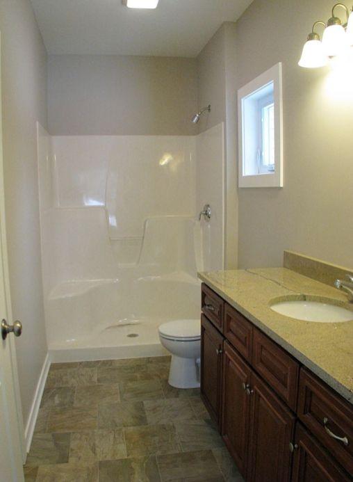2415 Master bath, step in shower