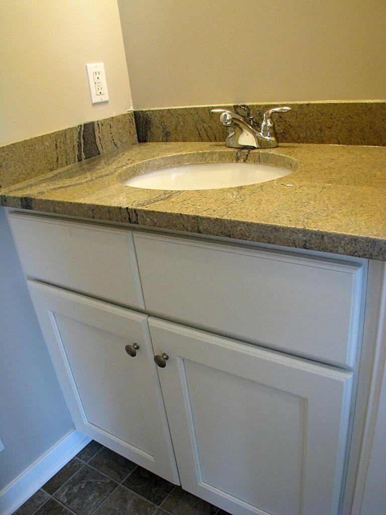 2415 Vanity in half bath