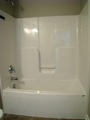 2415 Tub shower combination in Lower level full bath