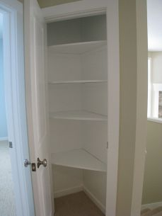 2518 Closet interior by back entry