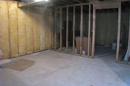 2415 Unfinished storage room in lower level
