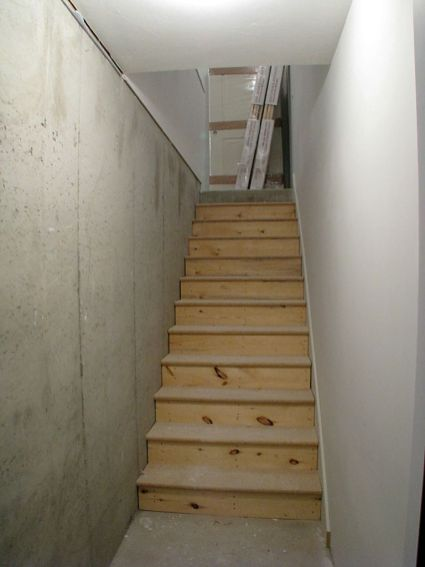 2415 Stairway from lower level to garage