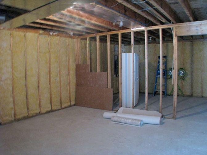 2518 Unfinished storage room